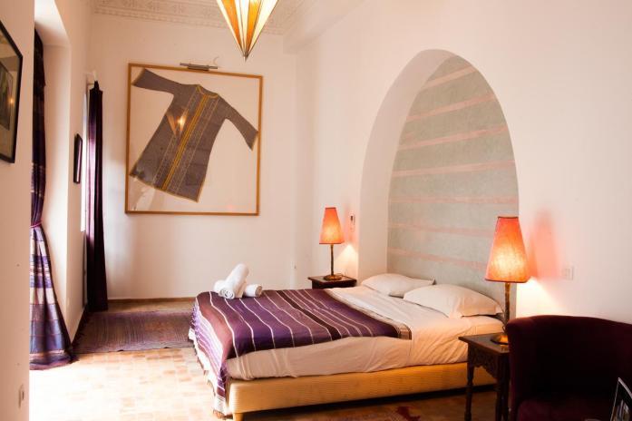 Riad El Kenz, Marrakech, leuke, goedkope accommodatie - Map of Joy