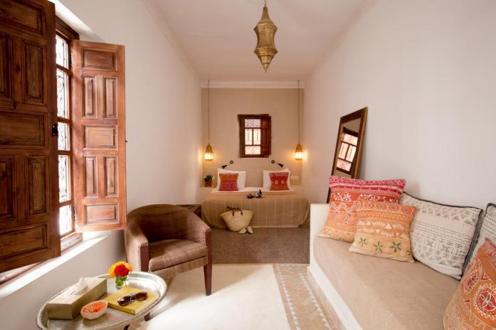 Riad Farhan, Marrakech, leuke, goedkope accommodatie - Map of Joy