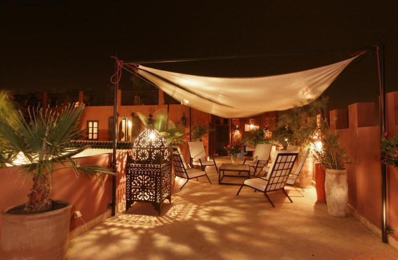 Riad Pachavana, Marrakech, leuke, goedkope accommodatie - Map of Joy