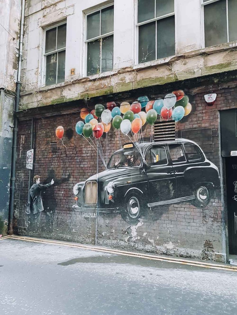 Most Economical Taxi, Mitchell Street, Glasgow - Map of Joy