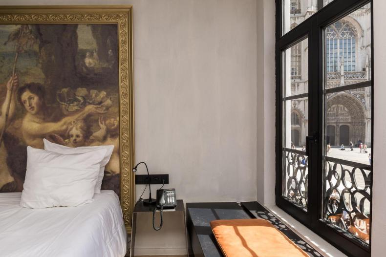 HotelO Kathedraal, leuke betaalbaar hotel Antwerpen - Map of Joy
