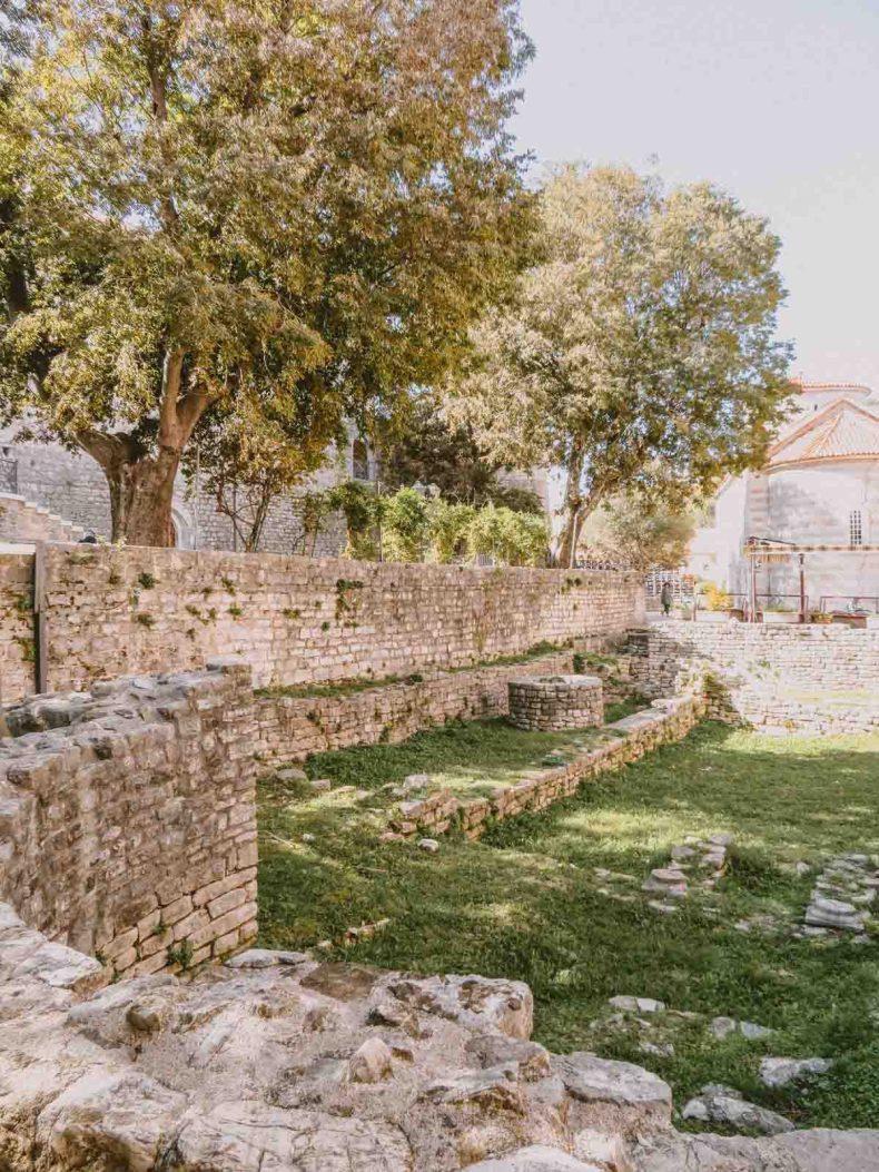 bezienswaardigheden Budva Montenegro - Map of Joy
