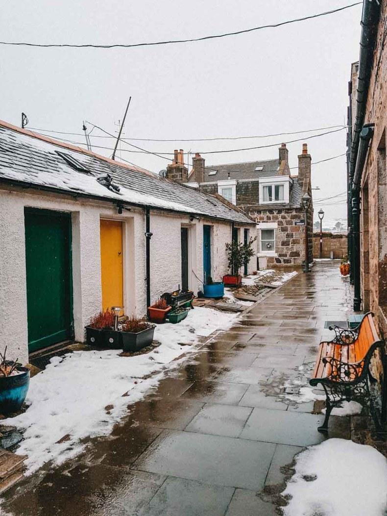 Footdee, Aberdeen, Schotland - Map of Joy