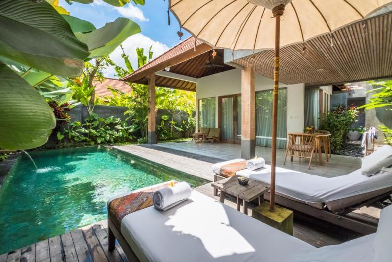 12x leuke, goedkope accommodaties in Ubud op Bali
