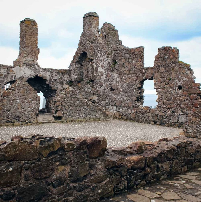 Dunlace Castle, Noord-Ierland - Map of Joy