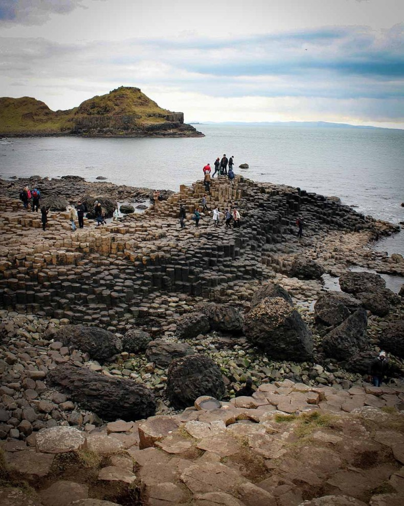 The Giant's Causeway, Noord-Ierland - Map of Joy