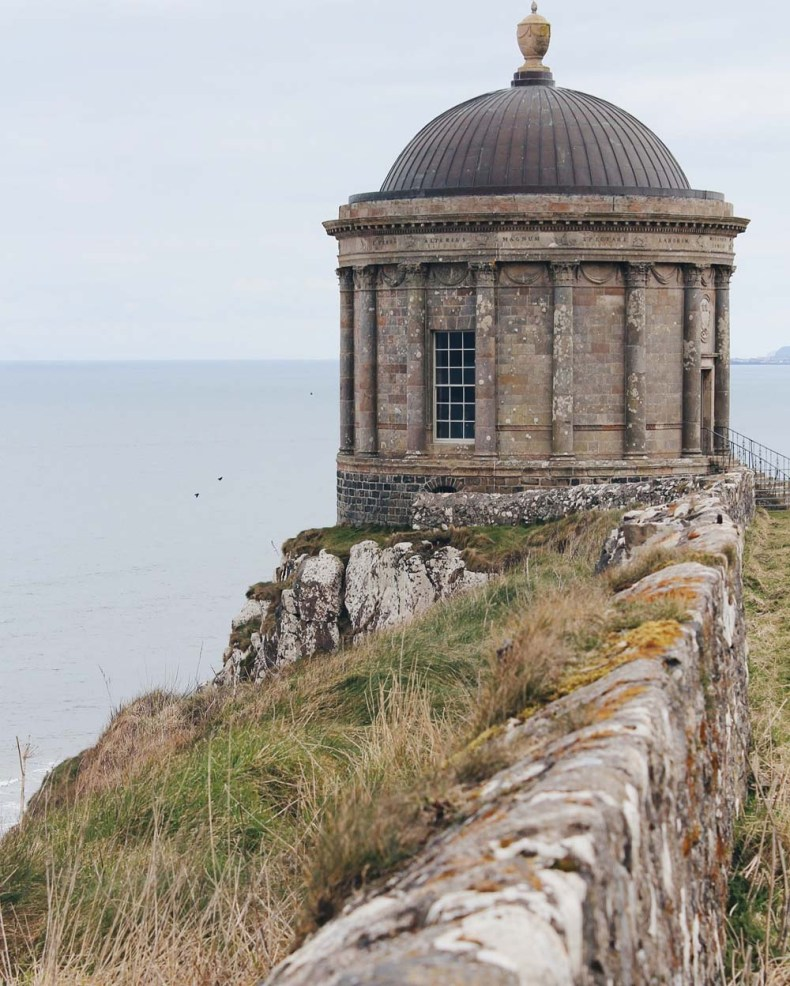 Mussenden Temple, Noord-Ierland - Map of Joy