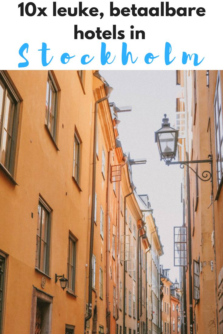 10x leuke, betaalbare hotels in Stockholm - Map of Joy