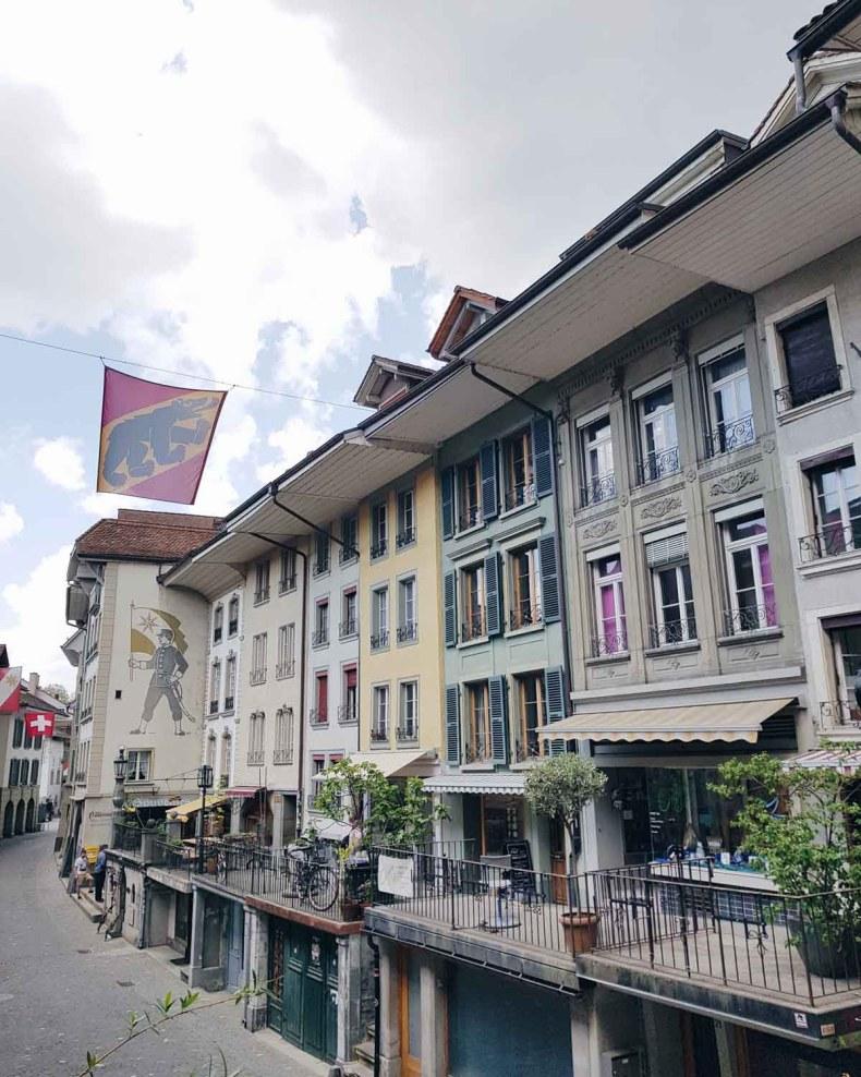 Thun, Zwitserland - Map of Joy