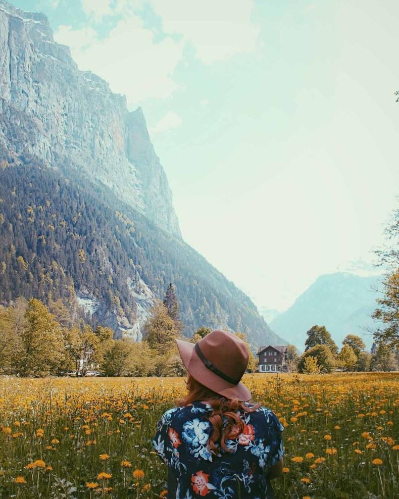 Zwitserland, Lauterbrunnen - Map of Joy