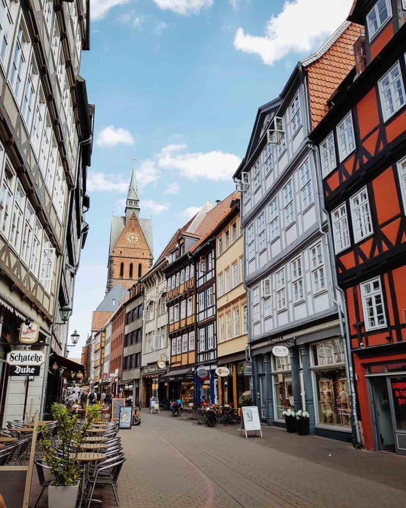 Vakwerkhuizen in de Kramerstraβe, Hannover - Map of Joy
