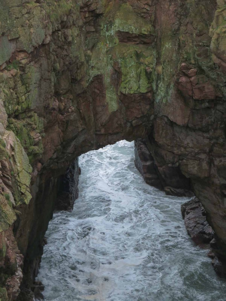 Bullers of Buchan, Aberdeenshire, Schotland - Map of Joy