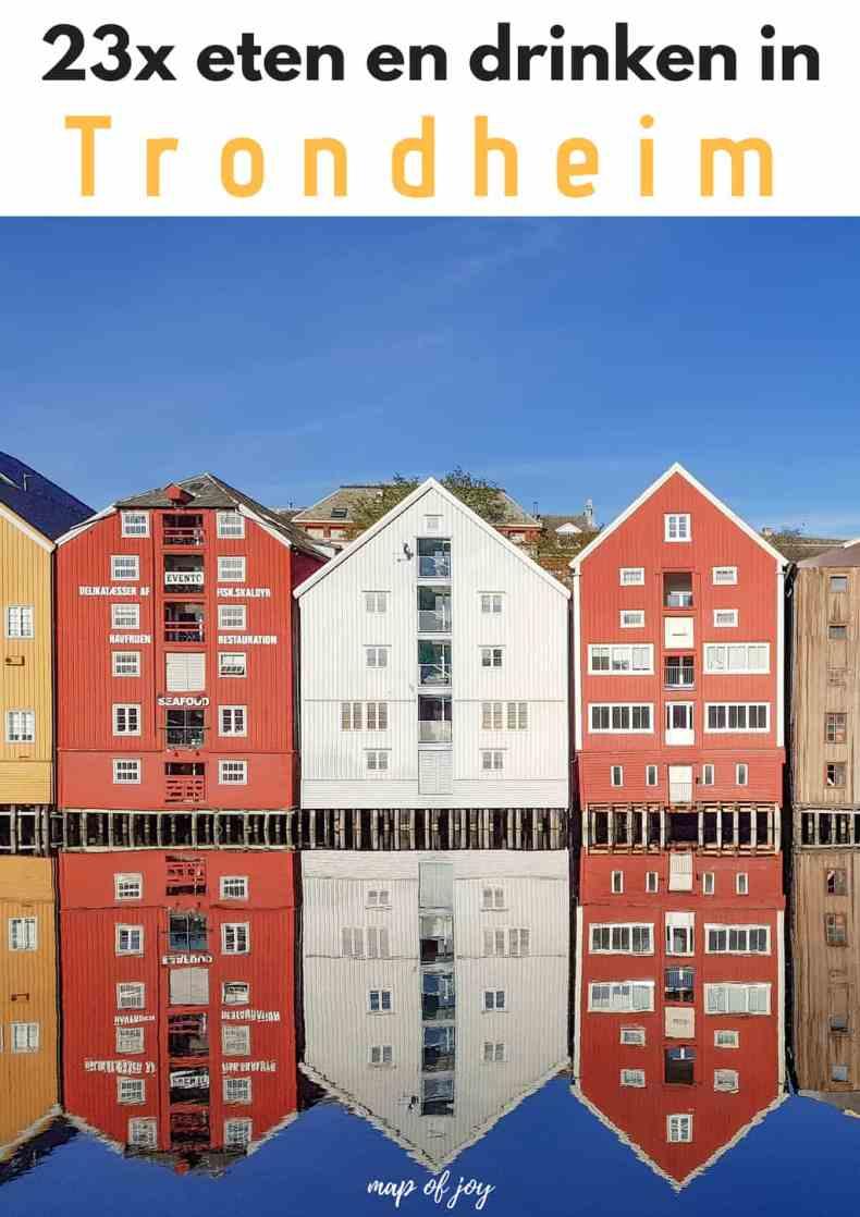23x eten en drinken in Trondheim - Map of Joy