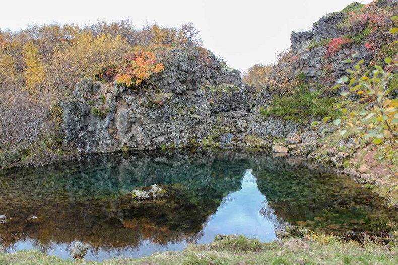 Paradise Hollow, Glanni waterval, IJsland - Map of Joy