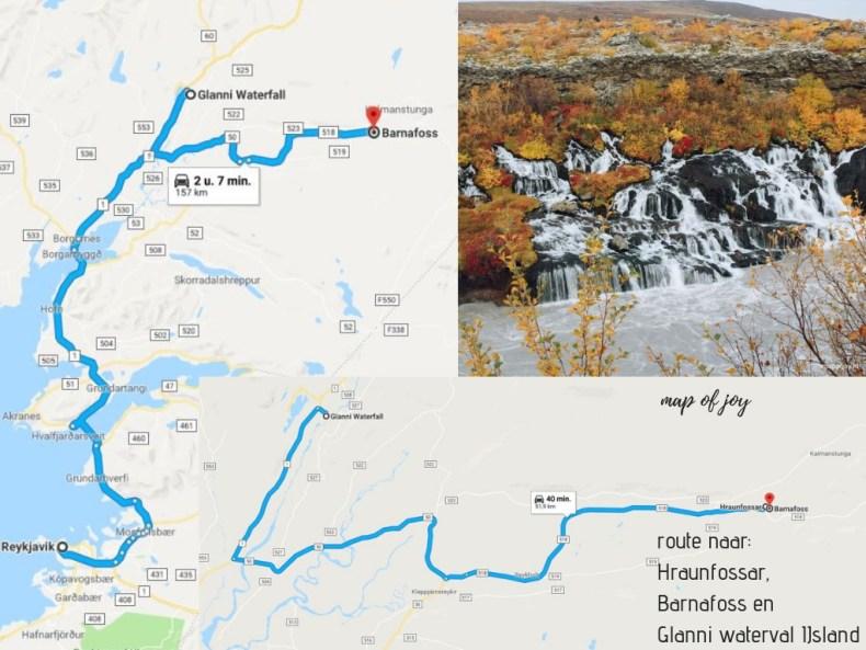 IJsland in de herfst: 3x de mooiste watervallen route - Map of Joy