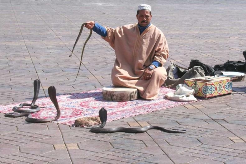 Djemaa el Fna, doen in Marrakech - Map of Joy