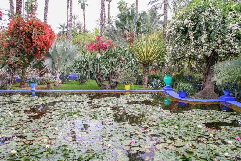 Jardin Majorelle, doen in Marrakech - Map of Joy