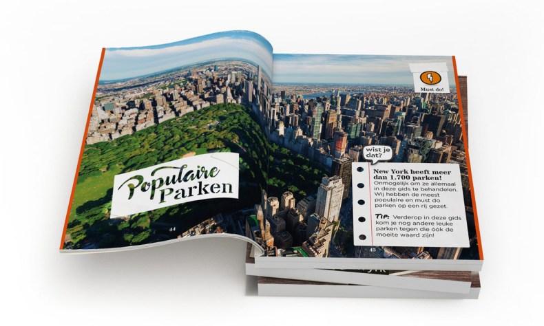 Hallo! New York boek - Map of Joy