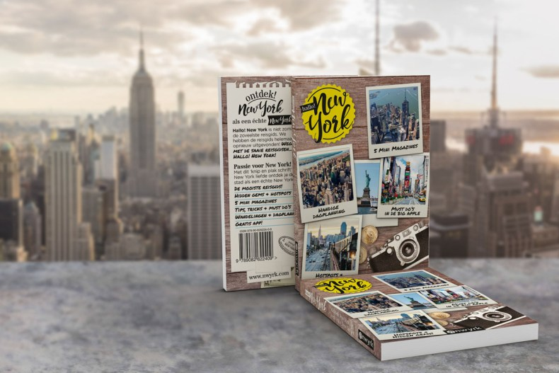 Hallo! New York boek - Map of Joy
