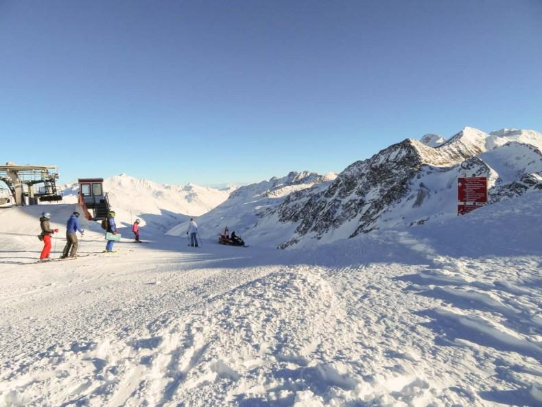 Skiën en snowboarden in Val Senales (Schnalstal) - Map of Joy