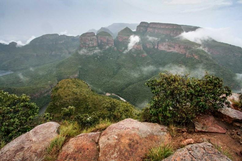 5x de leukste roadtrips in Zuid-Afrika, panoramaroute, God's Window - Map of Joy