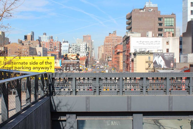 13x leuke parken in New York [en wat je er kunt doen], The High Line - Map of Joy