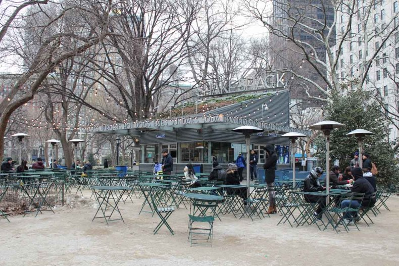 13x leuke parken in New York [en wat je er kunt doen], Shake Shack, Madison Square Park