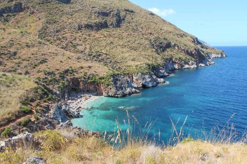 De mooiste plekken van Noord-Sicilië [roadtrip route], Zingaro natuurreservaat - Map of Joy