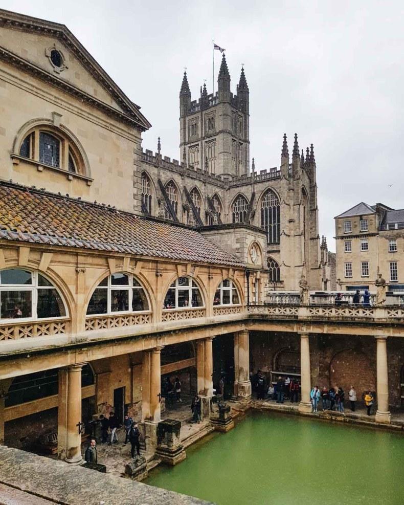 Roman Baths in Bath - Map of Joy