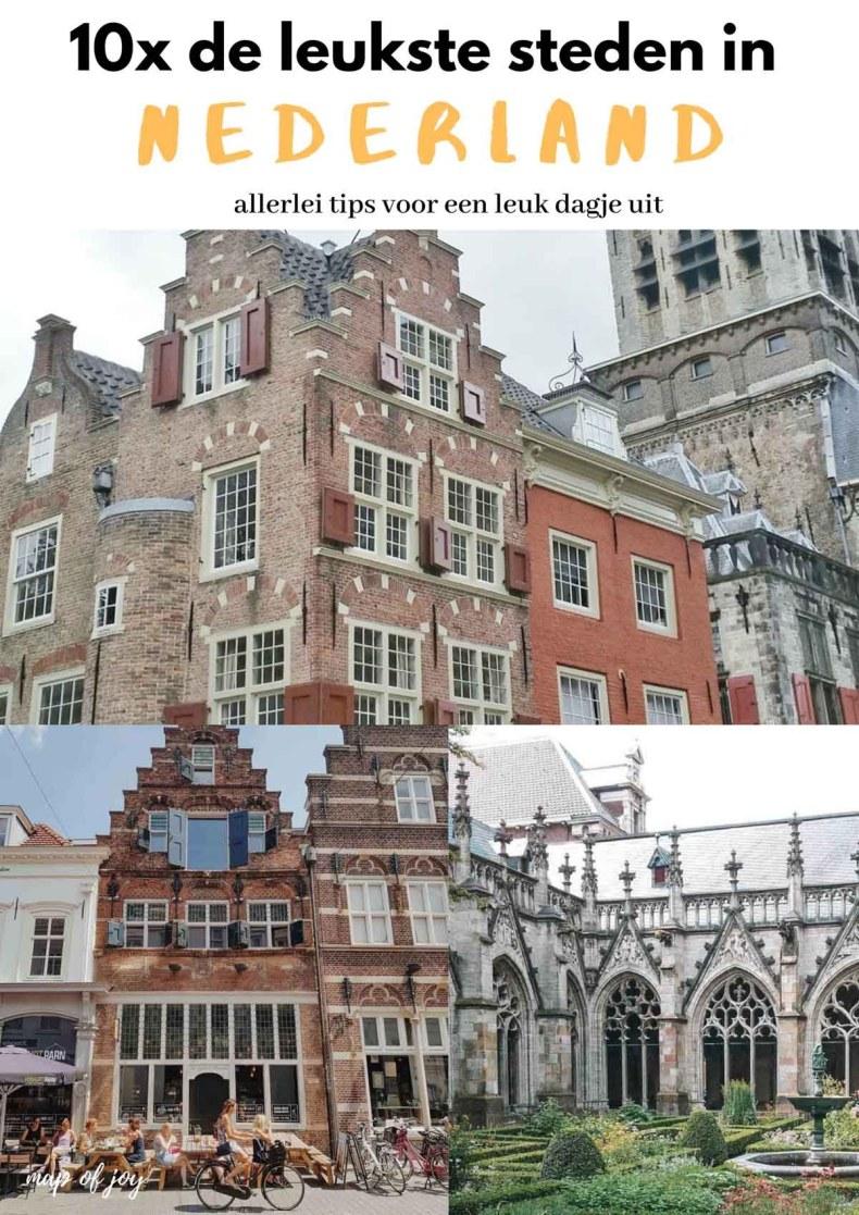 10x de leukste steden in Nederland voor een dagje weg - Map of Joy