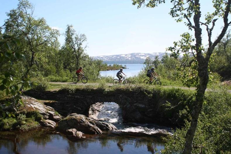 Doen in Jämtland Härjedalen in de zomer - Map of Joy