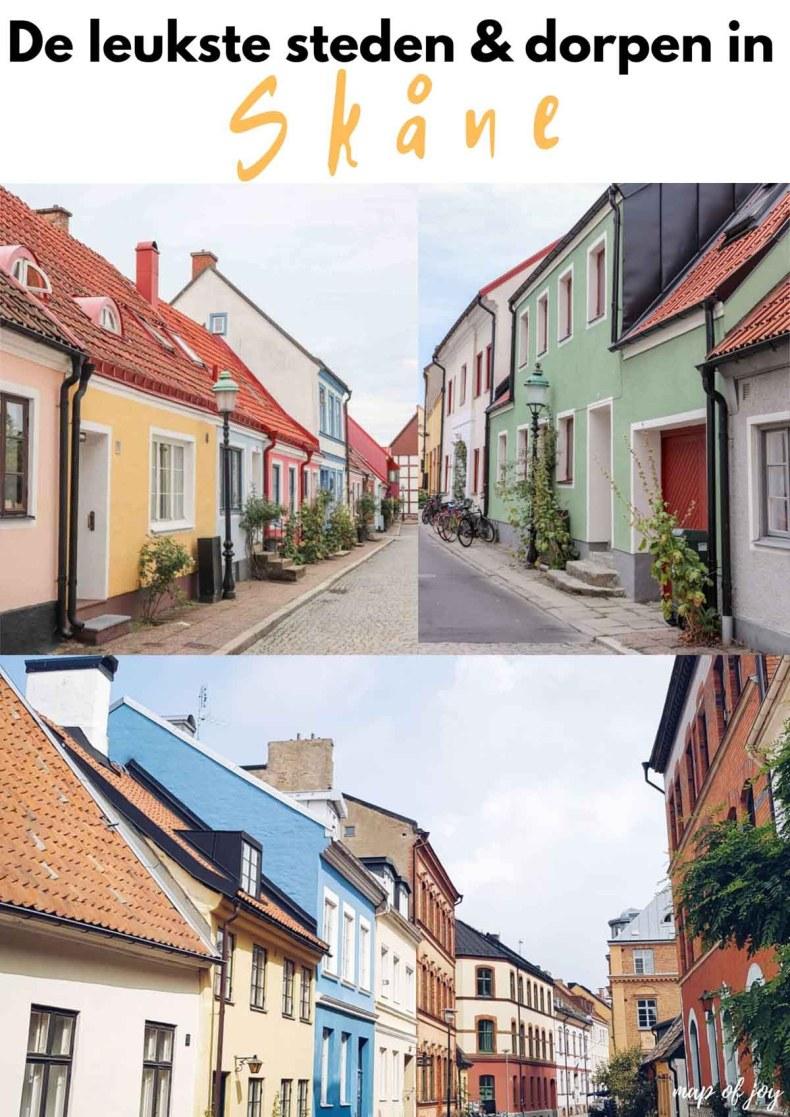 De leukste steden en dorpen in Skåne - Map of Joy