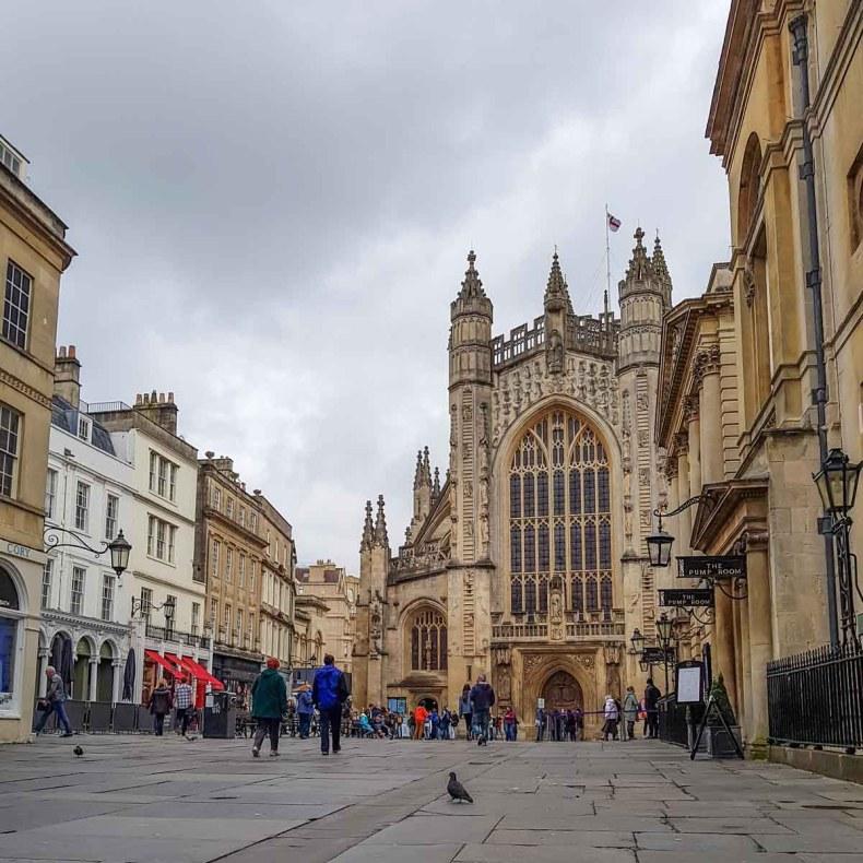 10x zéker doen tijdens je stedentrip Bath, Bath Abbey - Map of Joy