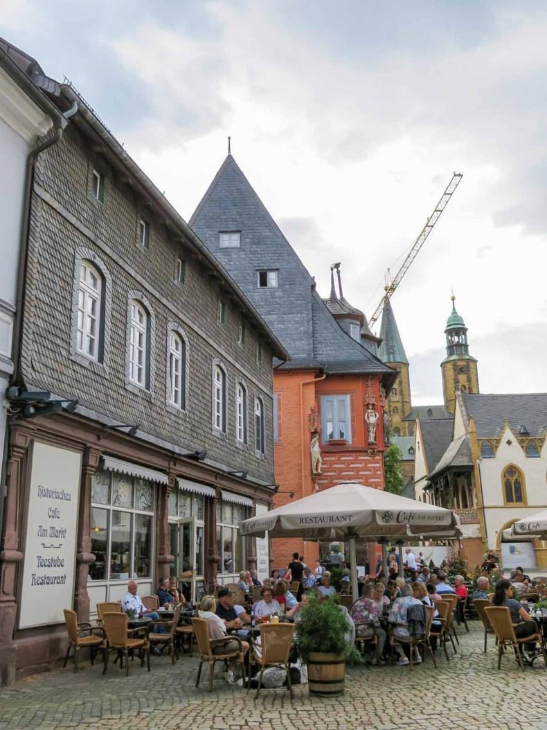 4x de mooiste steden in de Harz, Goslar - Map of Joy