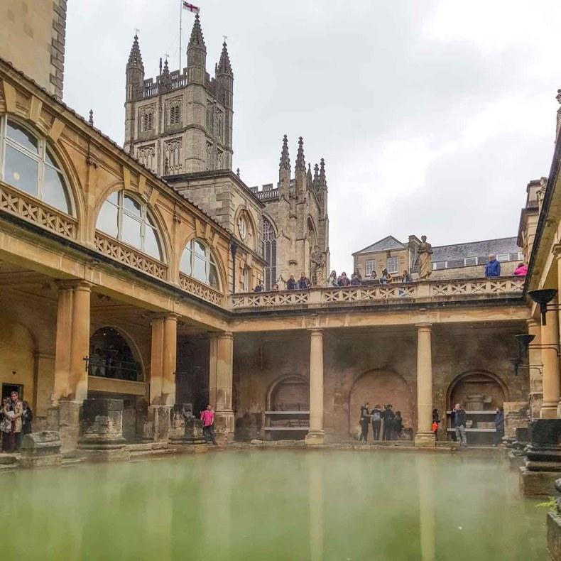 10x zéker doen tijdens je stedentrip Bath, Romeinse Baden - Map of Joy