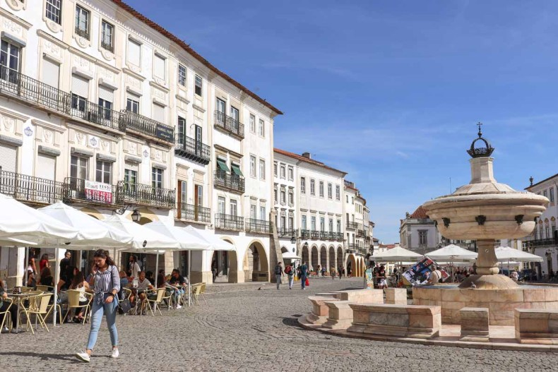 Rondreis Alentejo, Évora - Map of Joy