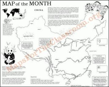 geography worksheet: NEW 904 GEOGRAPHY WORKSHEETS ON CHINA