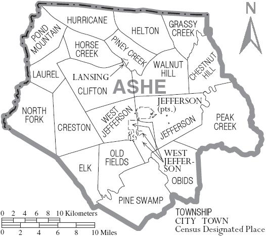 Family North Carolina Ashe