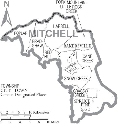 Mitchell County, North Carolina History, Genealogy Records