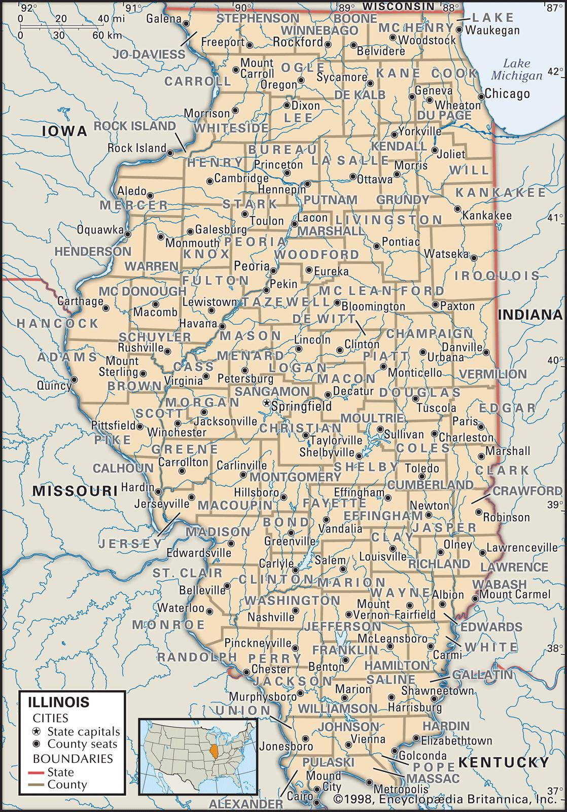 Joliet Illinois Map Cities