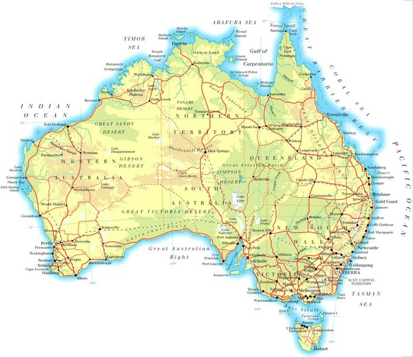 Australia maps • mappery
