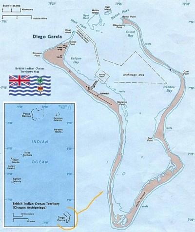British Indian Ocean Territory Map - British Indian Ocean ...