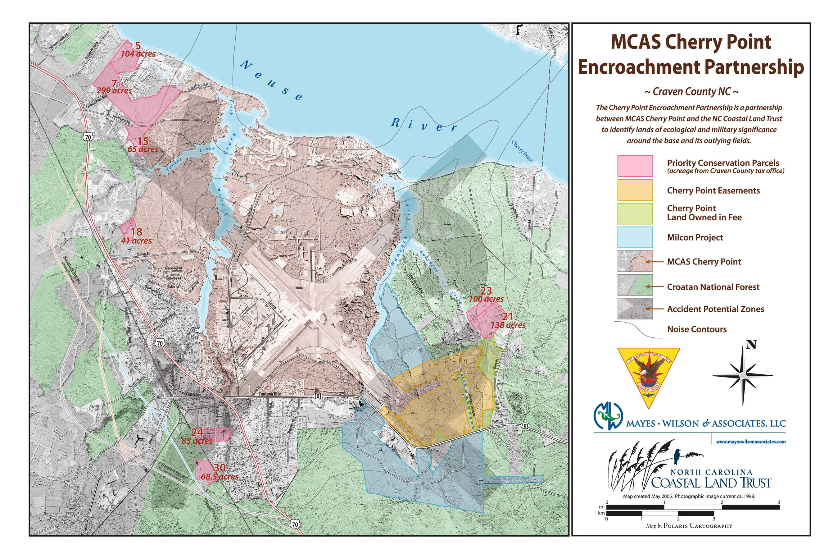 Cherry Point Conservation Initiative Map