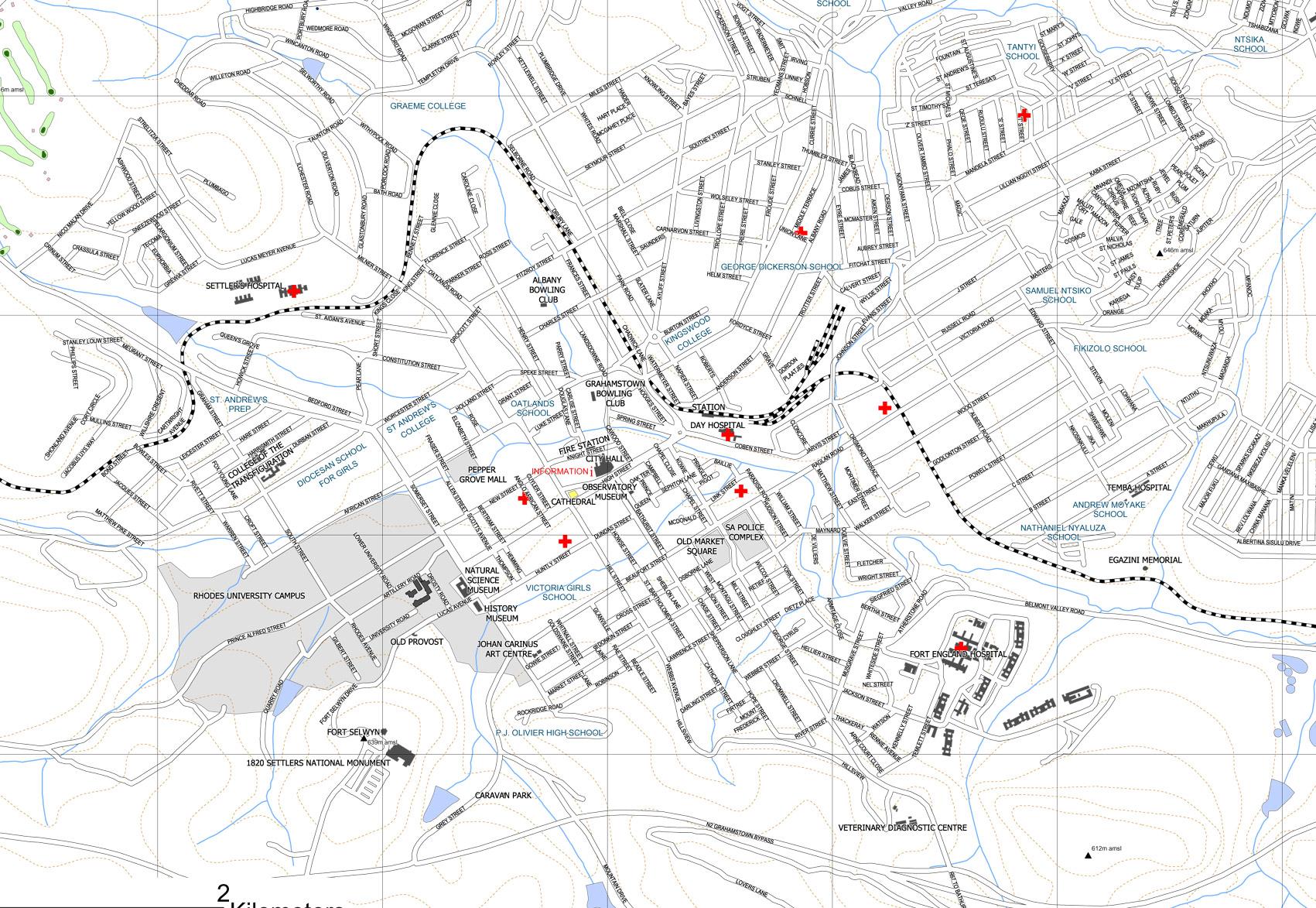 Cape Town Street Map Pdf