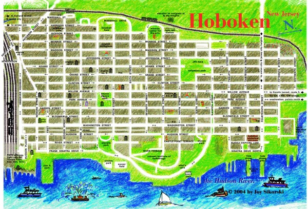 Image result for downtown hoboken walking tour