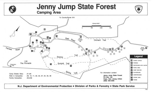 jenny jump state forest
