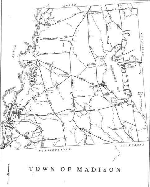 University Maine Farmington Campus Map