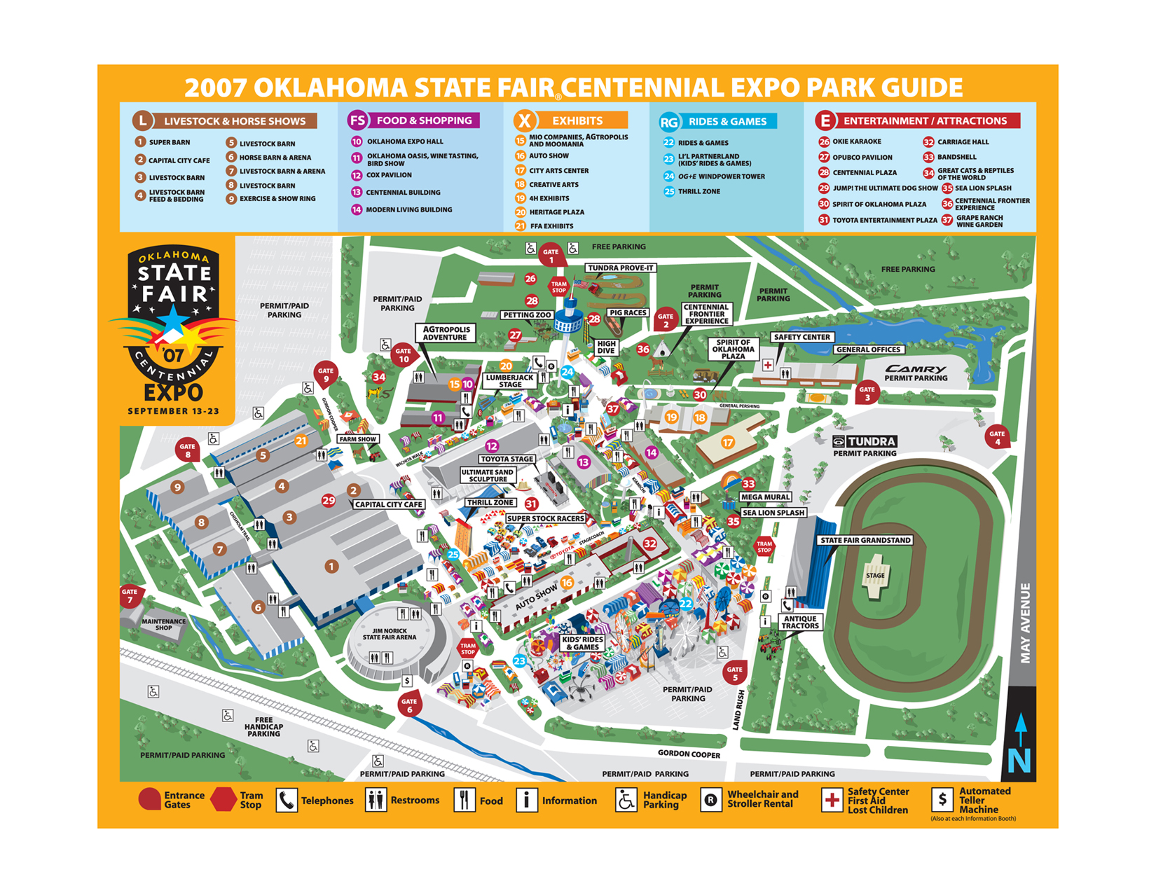Oklahoma State University Stillwater Campus Map