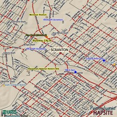 Lackawanna State Park Map Dalton PA 184149785 mappery