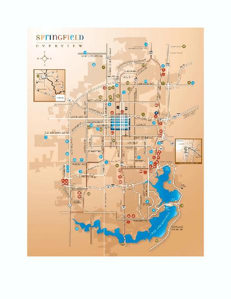 Springfield Illinois Map Pdf
